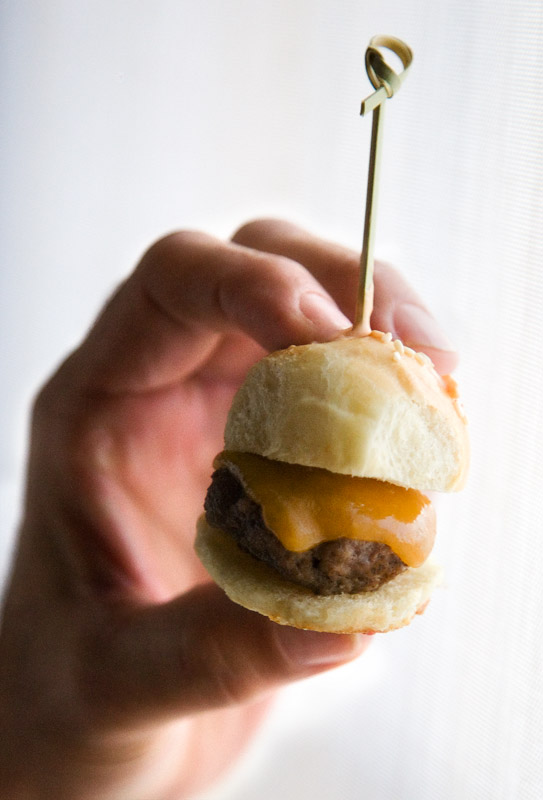 Mini Cheeseburger