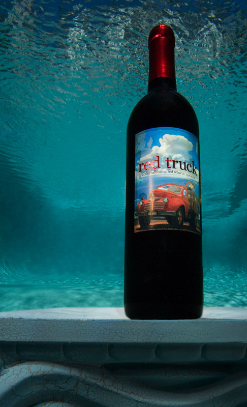 Food Underwater - Red Truck Wine