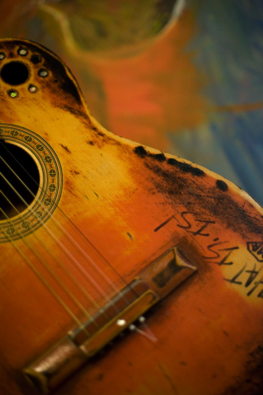 Guitar with a history