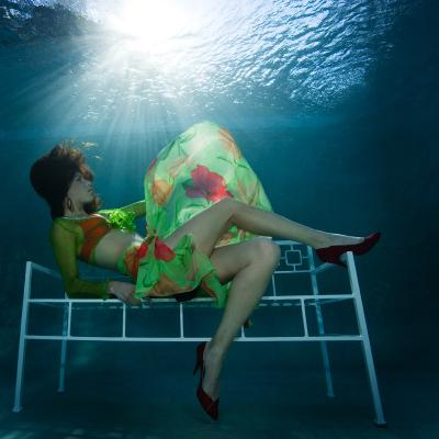 Photo by Mick Gleissner from the Underwater Fashion