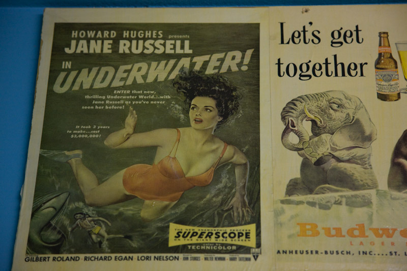 Underwater with Jane Russell; Howard Hughes Producer