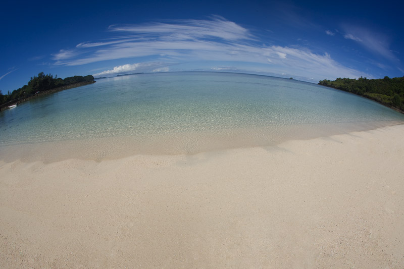 Palau Pacific Resort Beach (Fisheye)