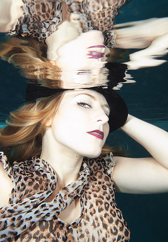Underwater with Kristina Sherk