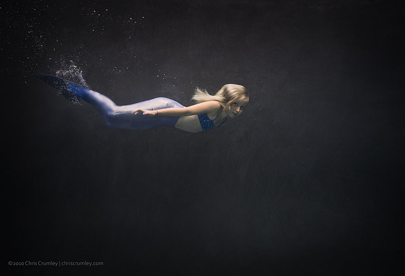 Underwater with Jenna Crumley