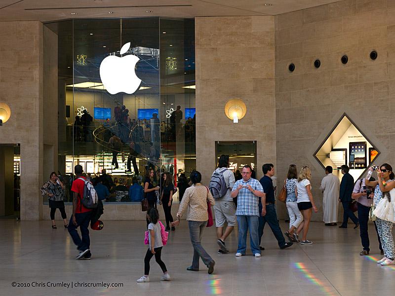 Blog 329 Apple Store In Carrousel Du Louvre Paris