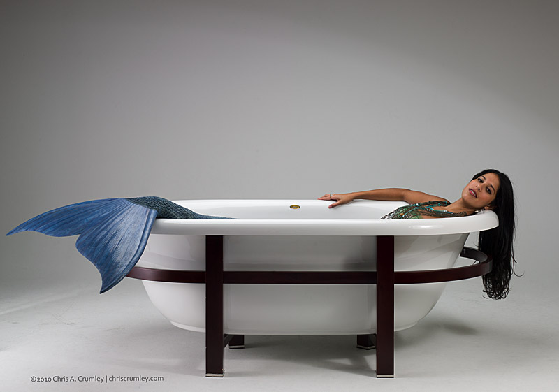 Bathtub Mermaid Indoors