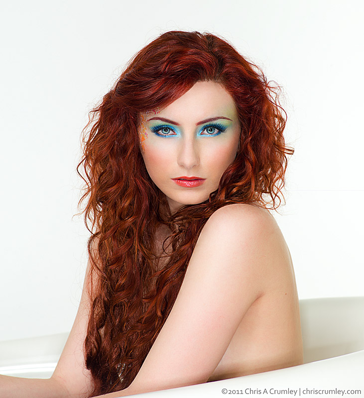 Chelsea Taylore Evans - Redhead in a Tub