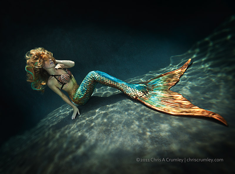 Kristina Sherk Underwater (Mermaid)