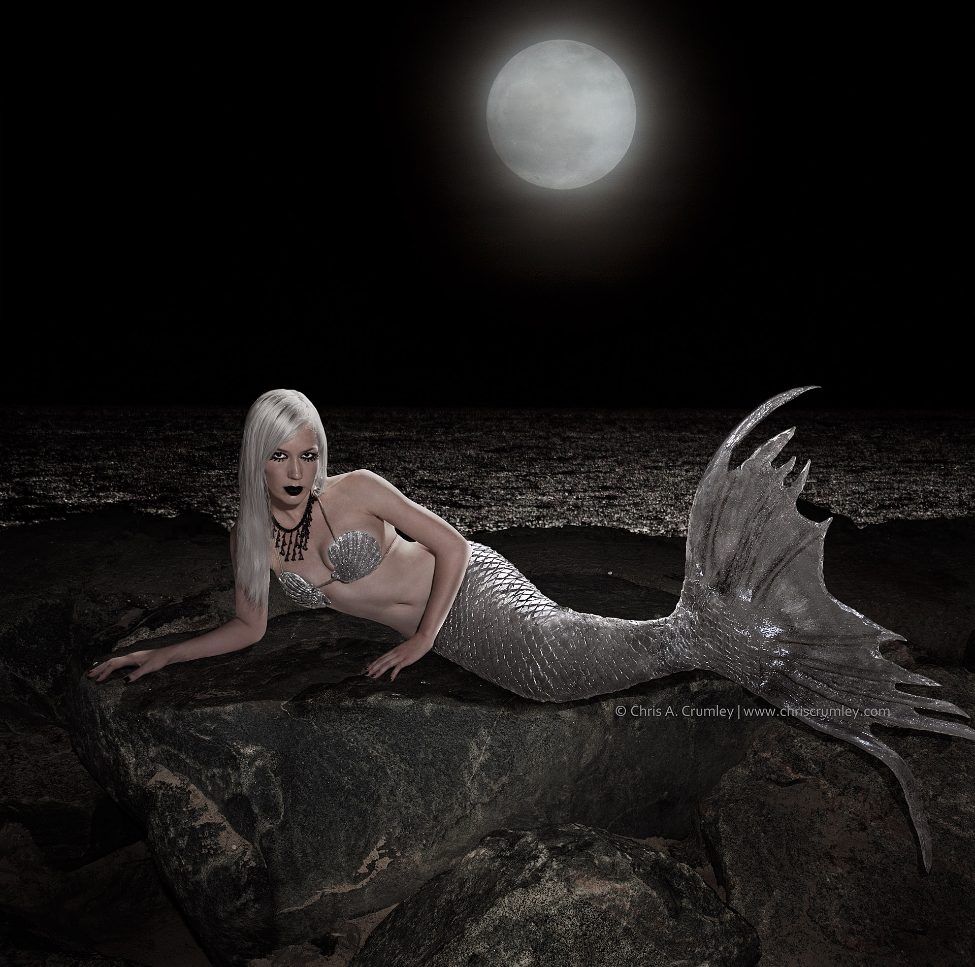 Silver Tongued Evil Mermaid
