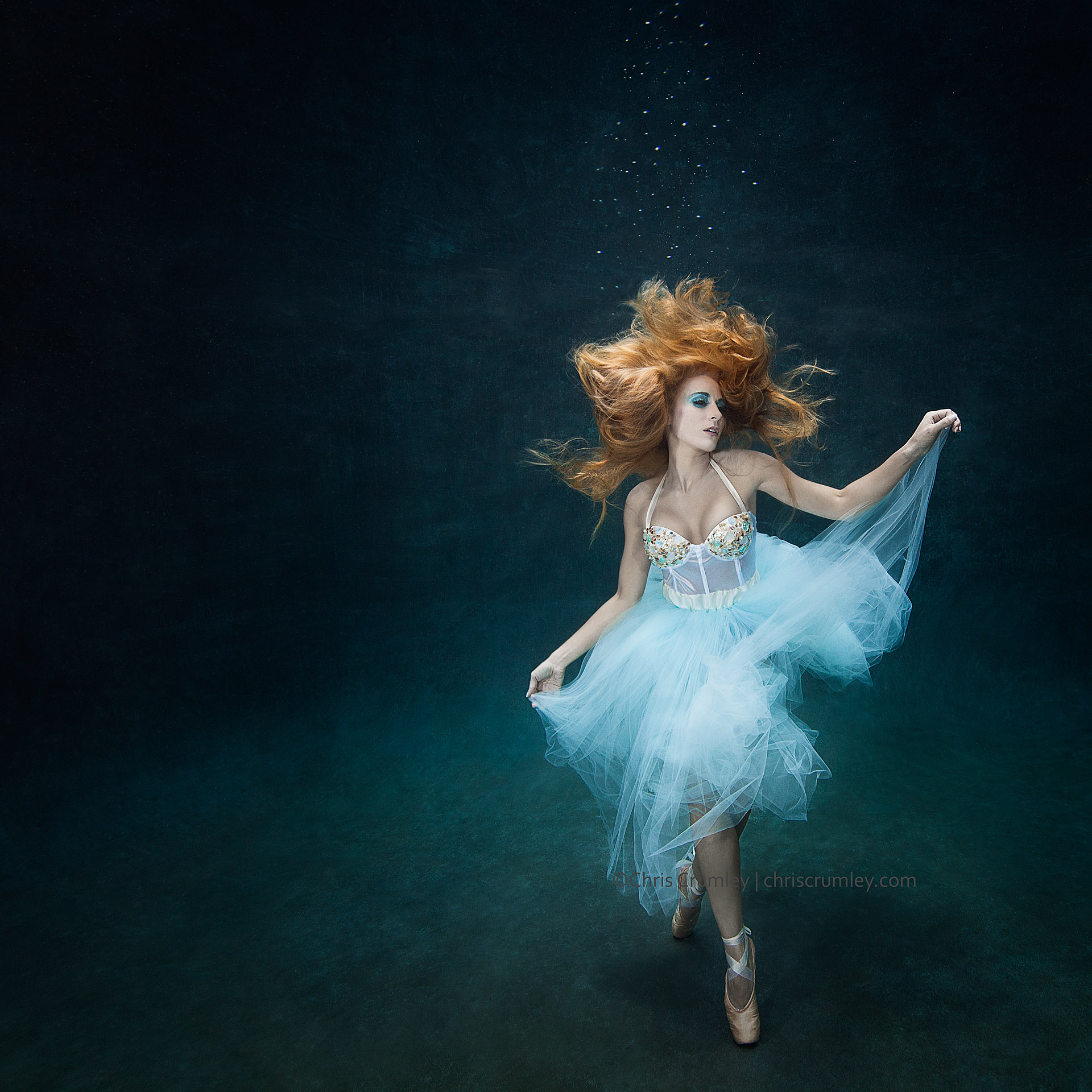 Underwater Dance; Virginia Beach, Virginia