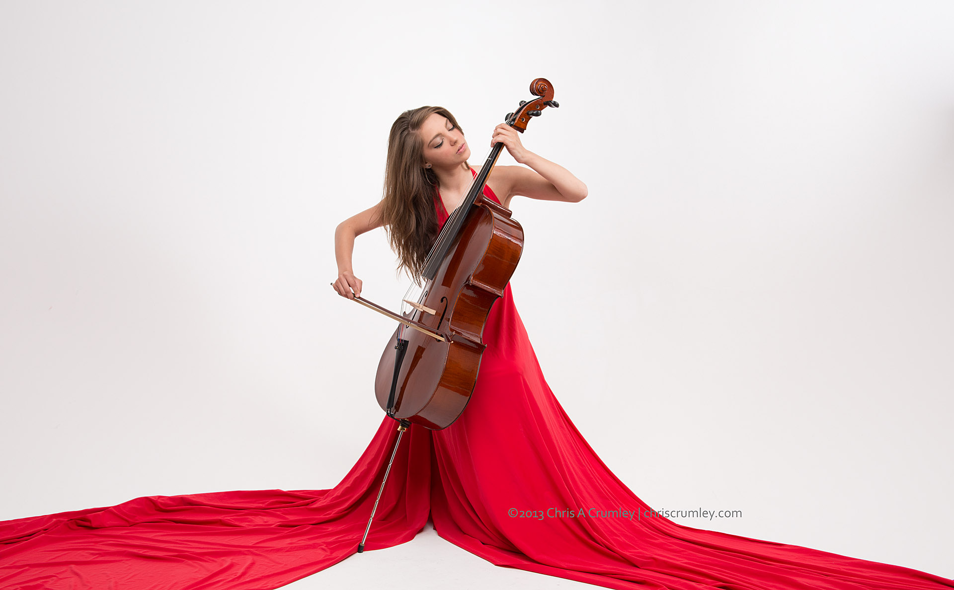 Cello and the Red Dress
