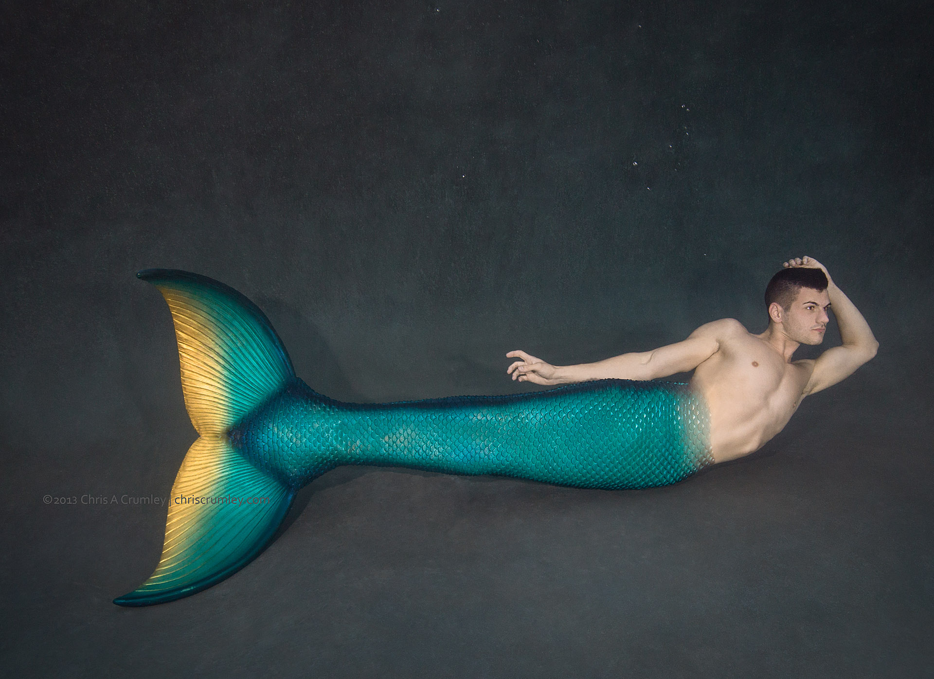 Merman Eric in New Mertailor Tail Design