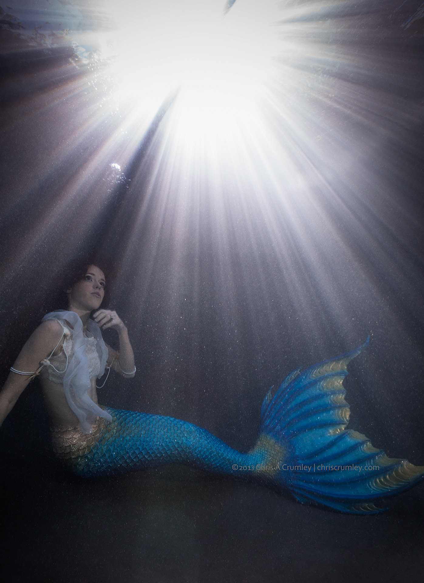 Sun Burst Mermaid