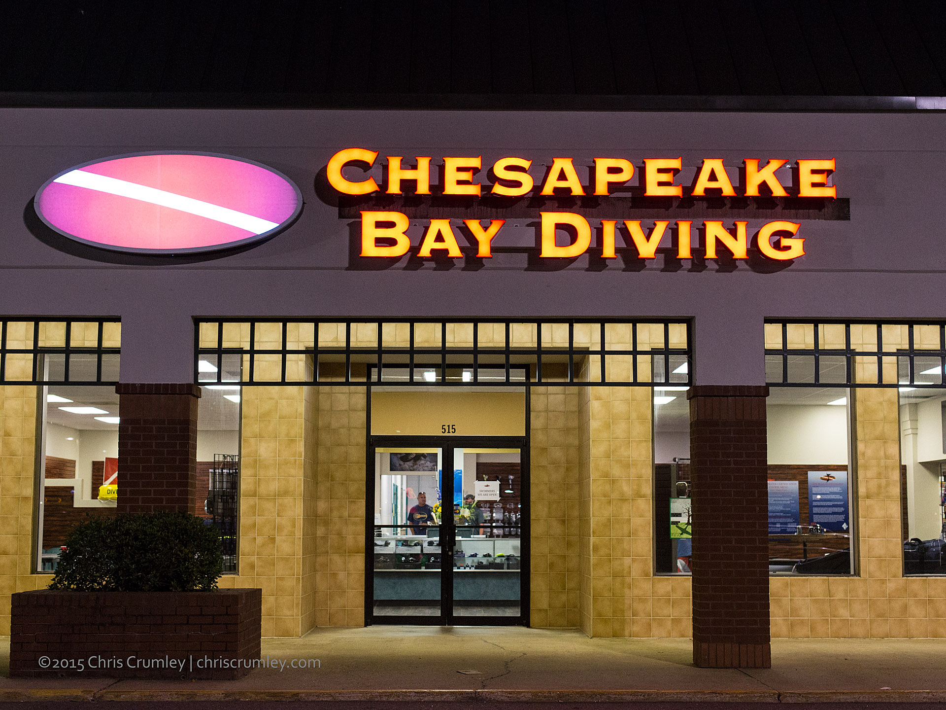 Chesapeake Bay Diving - New Dive Shop at Hilltop in Virginia Beach