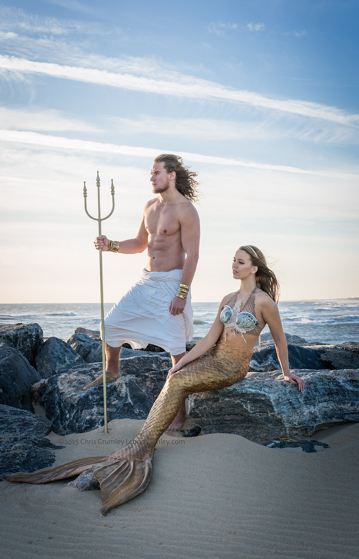 King Neptune & Mermaid