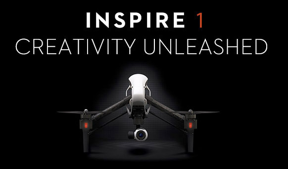 DJI Inspire 1 drone on the way