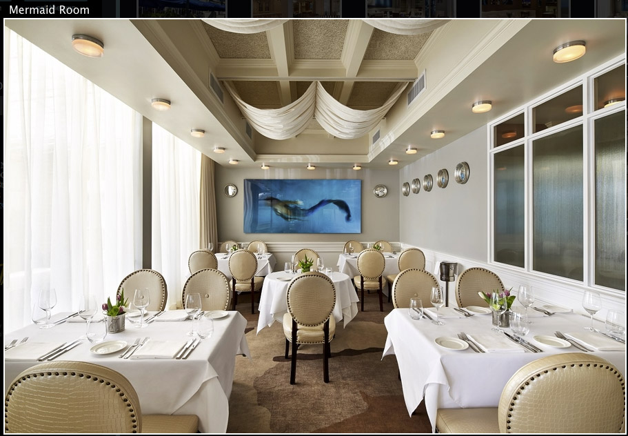 Fiola Mare Restaurant - Mermaid Room