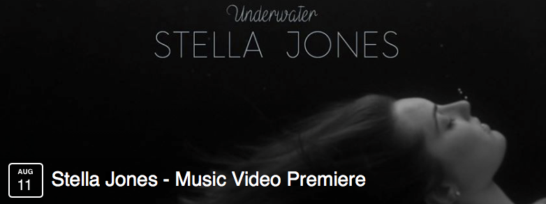 "Stella Jones' Music Video ""Underwater"""