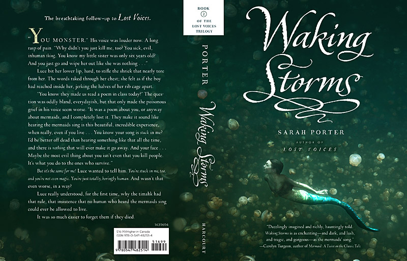 Book Covers - Waking Storms