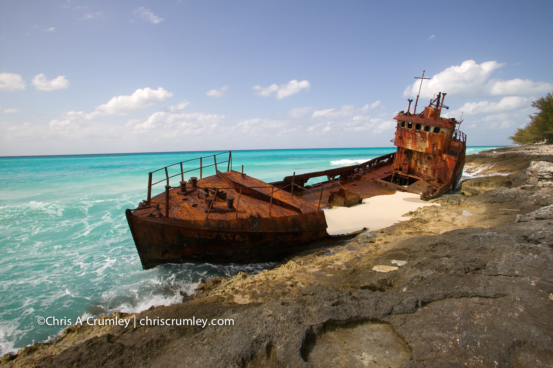 Bimini Shipwreck - The Galant Lady, Belize