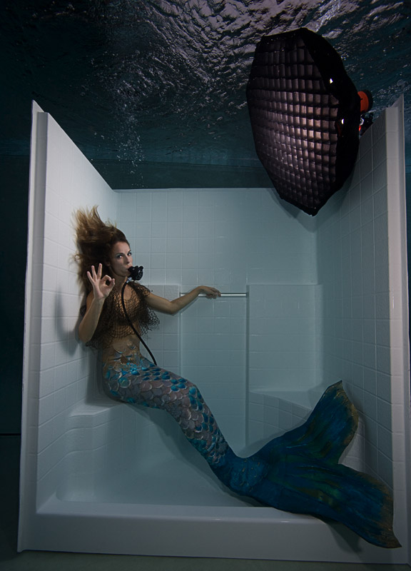 Mermaid in the Shower