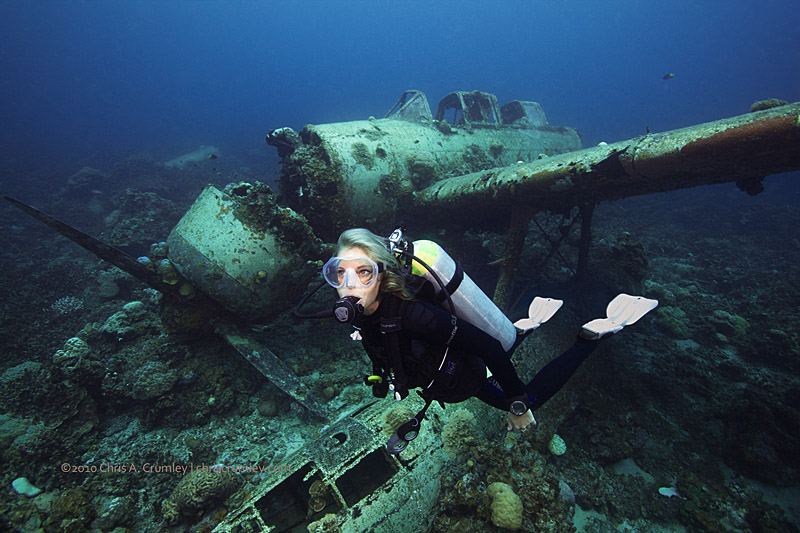 The Jake Seaplane Wreck - Palau, Micronesia