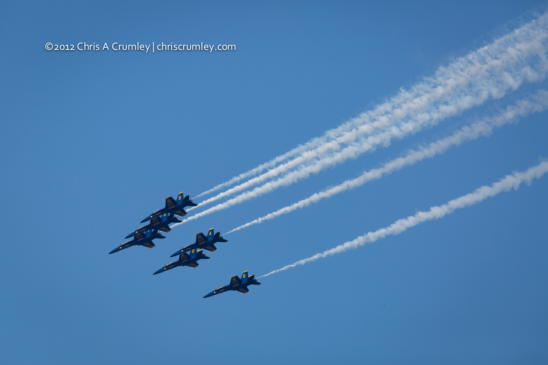 Six Blue Angels - Virginia Beach, VA