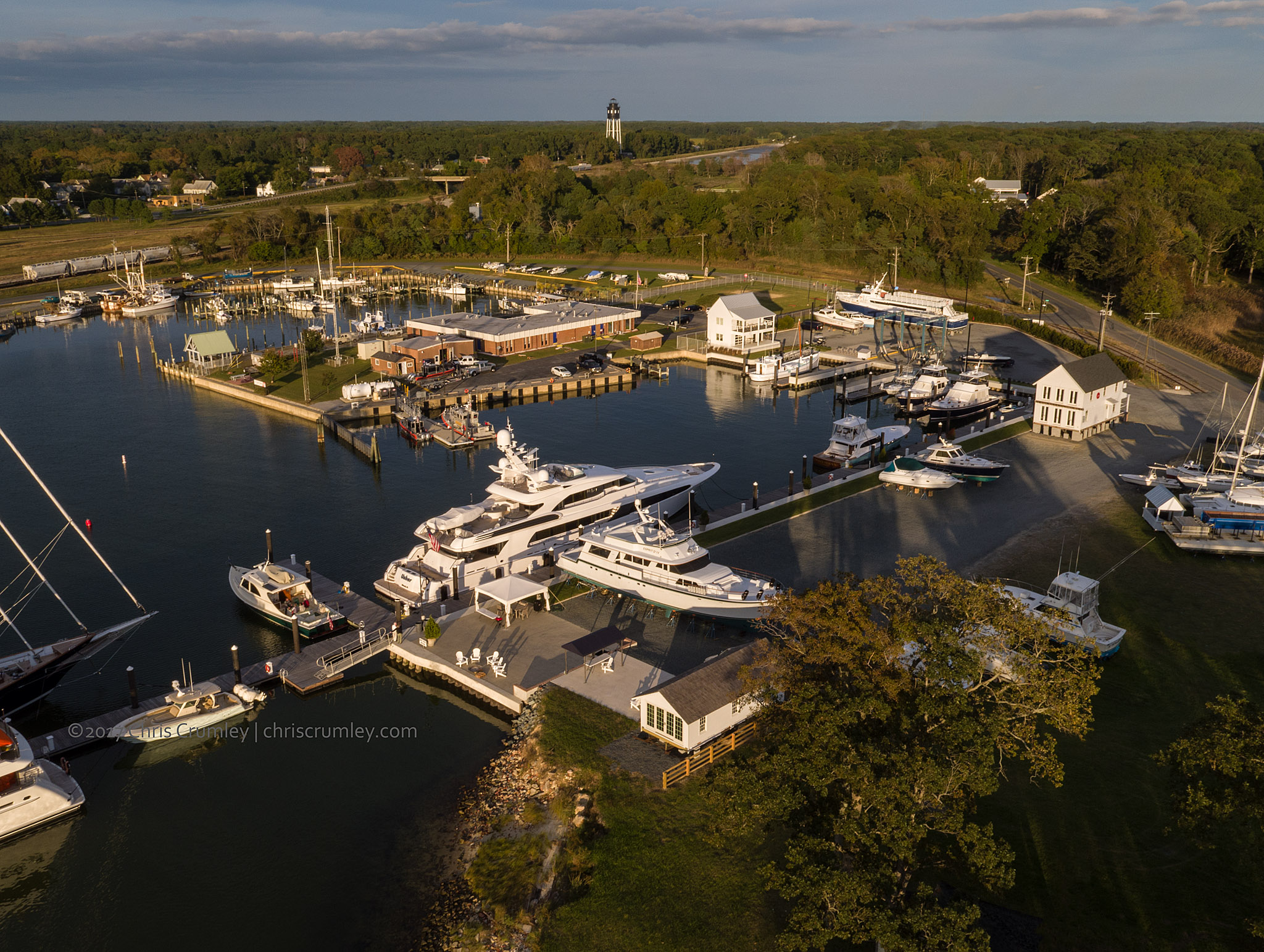 Cape Charles Yacht Center on Virginia's Eastern Shore