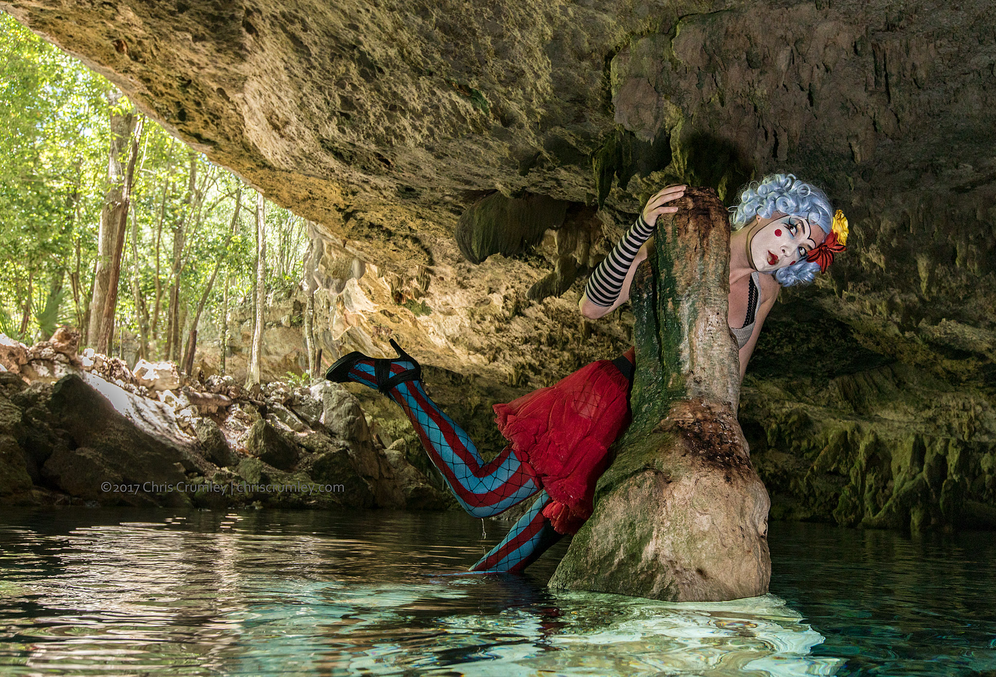 Creative/personal work sessions, Dos Ojos II Cenote