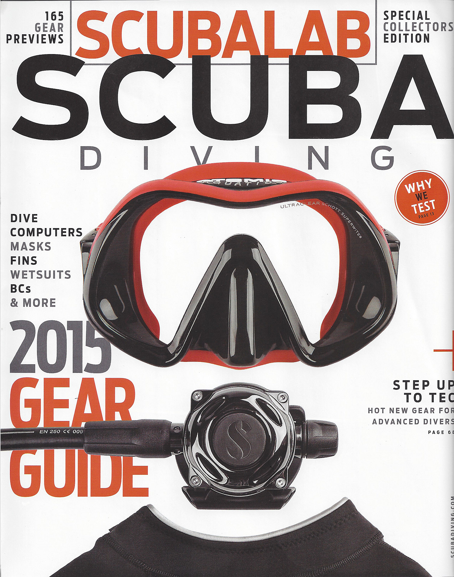 Scubalab Scuba Diving Magazine Spread